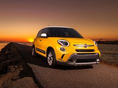 Enjoy those gorgeous #SanDiego sunsets this summer in the 2014 FIAT #500L #Trekking
