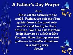 Happy Father's Day Prayer We all visits churches on special occasions and sing some church songs. This father's day let's try some father's day prayer Prayer For Fathers, Fathers Day Messages, Happy Fathers Day Images, Fathers Day Wishes, Happy Father Day Quotes, Fathers Day Weekend, Fathers Love, Fathers Day Images Quotes, Father's Day Prayer