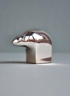 Dansk Silver Plate Bear by MisterTrue on Etsy