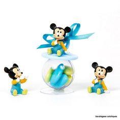 bonbonnière garnie de dragées sur le thème Disney Mickey