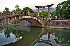 A HDR shot of a shrine in Uwajima, Ehime Prefecture (Shikoku).