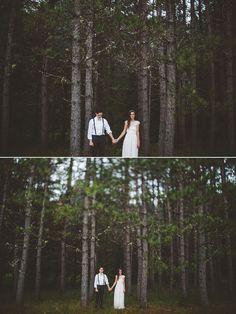 Travel Wedding Photographer, DIY woodland Wedding