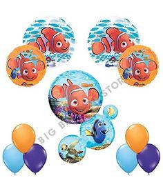 Finding Nemo Ultimate 11pc Birthday Party Balloon Kit Ana...