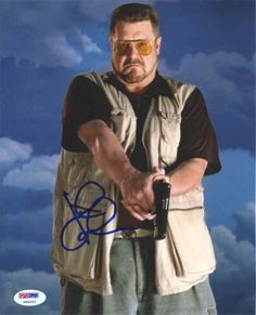 John Goodman The Big Lebowski Signed 8x10 Photo Certified Authentic PSA/DNA @ niftywarehouse.com