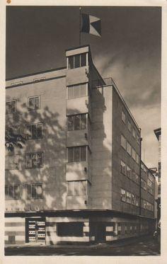 Dominikus Böhm - Haus des Gesellenvereins, Köln (House of the Journeymen's Union, Cologne), 1930 (Photo: Hugo Schmölz, attr.)