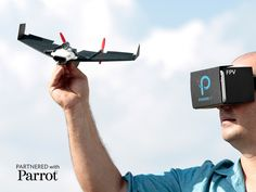 Experience first-person-view flight on a paper airplane with a LIVE streaming camera, via Google Cardboard.