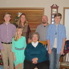 Trevor, Beth, Kevin, Connor,       Kaylin, Marlene--Dec. 2015