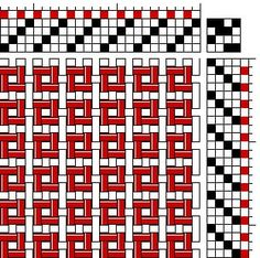 12 Twills of Christmas: Twill 12 | Colour-and-weave boxes | Weaving Space