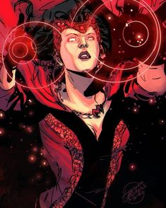 Scarlet Witch by Geraldo Borges Colors by Vinny Townsend Marvel Rpg, Marvel Comics Art, Marvel Comic Books, Marvel Heroes, Marvel Characters, Comic Books Art, Marvel Avengers, Comic Art, Ms Marvel