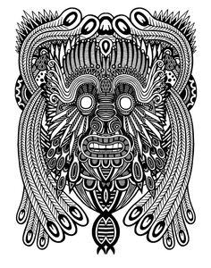 Masquerade by Andrew Denholm, via Behance