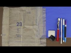 How to Mark Your Fabric For Sewing - Updated - YouTube