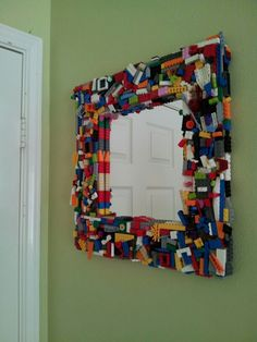 There are so many varying uses for LEGO that probably never even crossed you mind! Here we have some genius LEGO creations you need to see! Deco Lego, Boy Room, Kids Room, Boys Lego Bedroom, Lego Bedroom Decor, Boys Bedroom Curtains, Boy Bedrooms, Bedroom Furniture, Furniture Ideas