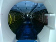Not an spaceship corridor, just a laser printer