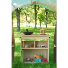 Wooden Play Kitchens for Small Spaces | palumba.com Palumba