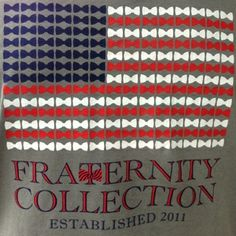 NEWEST tshirt design. Buy yours at  www.FraternityCollection.com