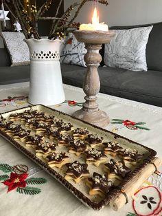 kudy-kam...: Linecké hvězdičky s pařížským krémem Serbian Recipes, Food, Cookies, Eten, Meals, Diet