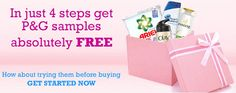 [ Freebie Alert ] Order FREE P&G products like Panteen Shampoo  Airel  Olay Absolutely FREE