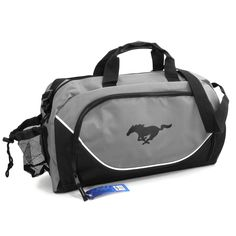 Ford Mustang Official Licensed Black Gray Duffel Bag ** Check this awesome product by going to the link at the image.