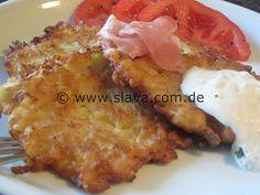 Kartoffelpuffer – Reibekuchen Grundrezept nach Oma Serka « kochen & backen leicht gemacht mit Schritt für Schritt Bilder von & mit Slava