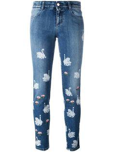 Stella McCartney джинсы 'Swan'