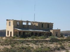 Terlingua Add to trip Big Bend National Park, TX abandoned after the mercury deposits were depleted