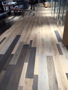 """Real wood replaces luxury vinyl tiles in higher positioned retail chains in S… - Home Decor Flooring Wood Tile Floors, Timber Flooring, Vinyl Flooring, Wood Floor Pattern, Floor Patterns, Kitchen Vinyl, Steel Frame Construction, Wall Decor Design, Glass Floor"