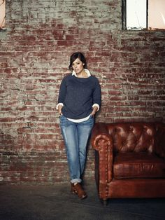 5 ways to wear boyfriend jeans for plus size - Page 7 of 7 - women-outfits.com