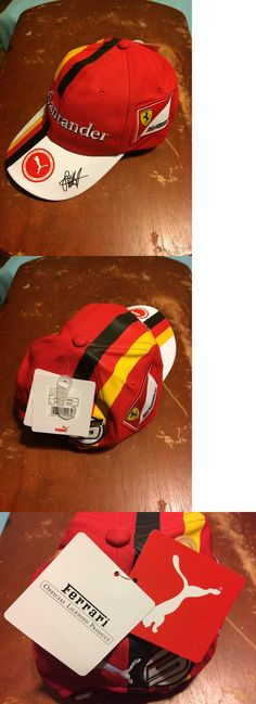 Racing-Formula 1 2876: Puma Scuderia Ferrari Vettel Rosso Corsa Hat -> BUY IT NOW ONLY: $52 on eBay!