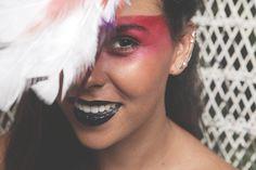 maquiagem de índia para o Carnaval.  Make: Vanessa Rozan  Por Carol Farina
