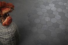 gray hex and gray grout Hexagon Series - Everstone - Tile product / Floor Tiles, Porcelain, Wall Tiles - Infotile