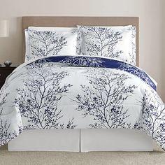 Leaf 8 Piece Queen Comforter Set