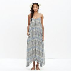 Madewell - Moroccan Tile Maxi Dress