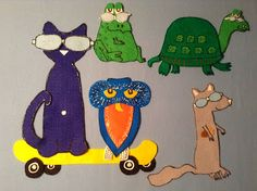 Library Village: Flannel Friday - Pete the Cat and His Magic Sunglasses