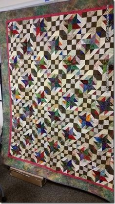 Quiltville's Quips & Snips!!: Texas Tumble Weed at VQF!