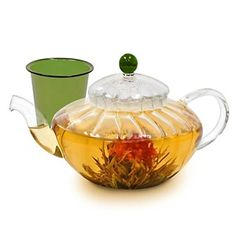 Easy Exotic Handcrafted Teapot with Flavored Teas at HSN.com.