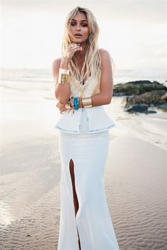 El Badi Dress - Azure   SABO SKIRT