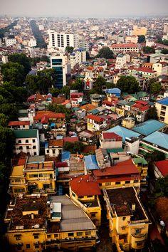 Downtown Hanoi, Vietnam