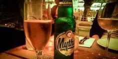 #Mythos, das #Nationalbier #Griechenlands #Santorin © Luchanta Draskowitsch