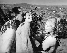 * Paul, Nusch Éluard et Lee Miller,1937, photo Roland Penrose