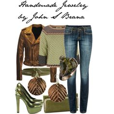 polyvore finds / Handmade Jewelry by John S Brana by linseygreen on Polyvore