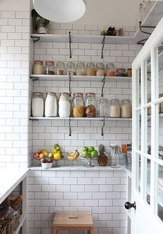 Great shelving for the kitchen!