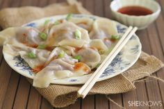 Quick Chinese dumplings