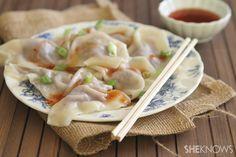 Quick Chinese dumplings