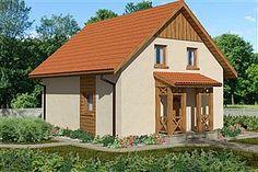Projekt domu Domek Norweski (016 PS)