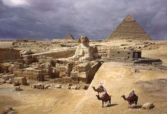 Die Pyramiden von Gizeh und die Große Sphinx. Foto: Anthony Stewart #Ägypten #Sphinx #Pyramide