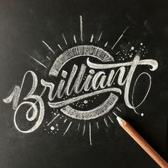 Discover recipes, home ideas, style inspiration and other ideas to try. Calligraphy Doodles, Doodle Lettering, Types Of Lettering, Lettering Styles, Lettering Design, Caligraphy, Chalk Typography, Chalkboard Lettering, Vintage Typography