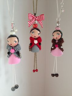 Without the fancy legs and arms. Doll Crafts, Bead Crafts, Jewelry Crafts, Wood Peg Dolls, Clothespin Dolls, Crafts To Make, Crafts For Kids, Arts And Crafts, Tiny Dolls