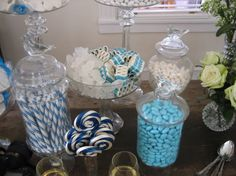 candy baby shower for boy