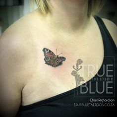 Flutter By Charl - True Blue Professional Tattoo Studio Professional Tattoo, Tattoo Studio, Print Tattoos, Blue