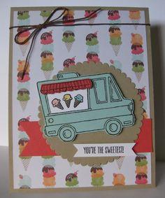 Barb Mann Stampin' Up! Demonstrator - SU - Tasty Trucks